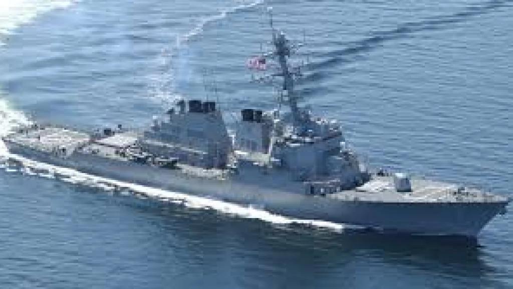 中国厉声谴责美国驱逐舰在西沙群岛海域航行挑衅