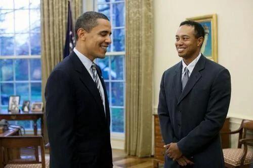 美政府审计报告:奥巴马与伍兹打场球 花了税款360万美元