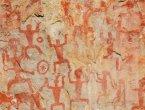 广西崖壁现战国时期神秘画群 世界罕见 组图