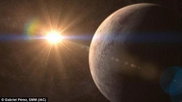 """科学家发现""""超级地球"""" 距离地球仅32.7光年(图)"""