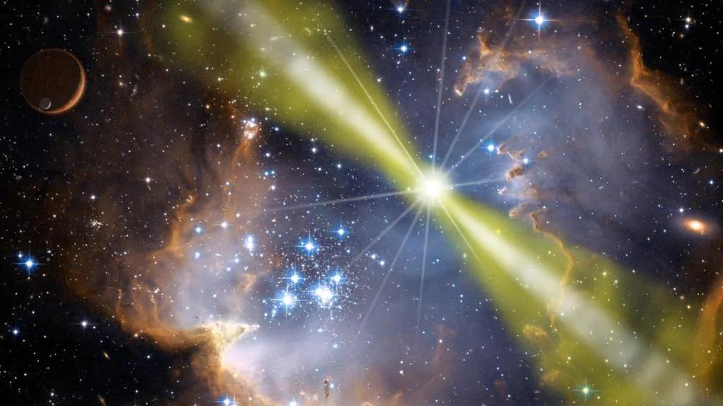 可怕!来自太空的神秘无线电讯号比预估的要再强10亿倍!(组图)