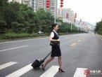 中国女孩获评世界最美空姐 看看她的一天(组图)