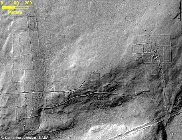NASA发现埋在丛林下的万年古城遗迹!