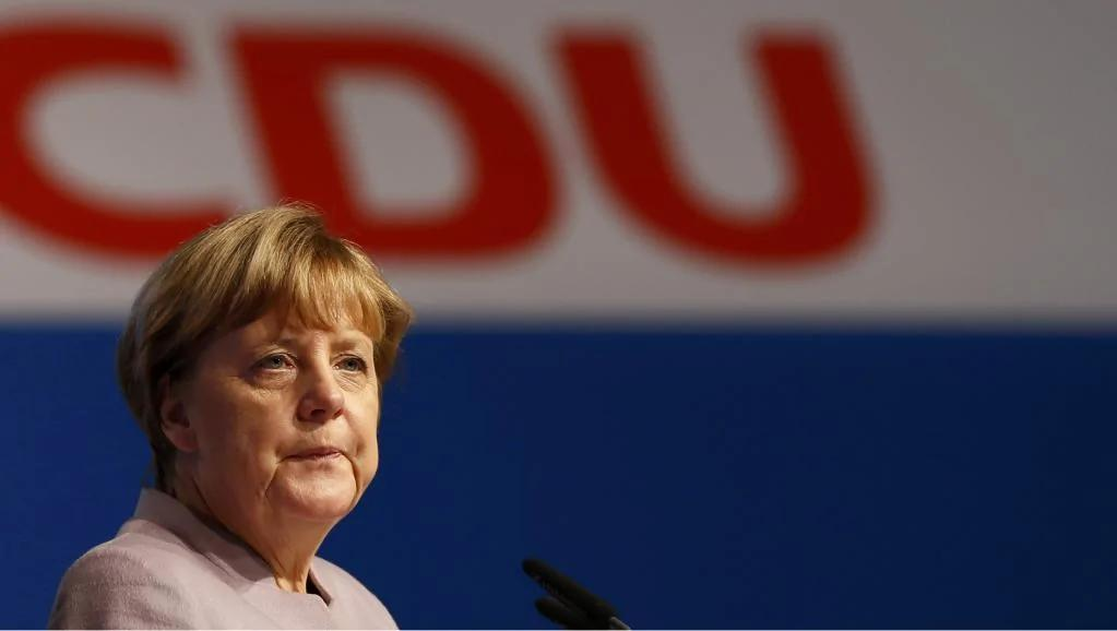 德总理默克尔周二再度当选党魁 2017角逐4度蝉联