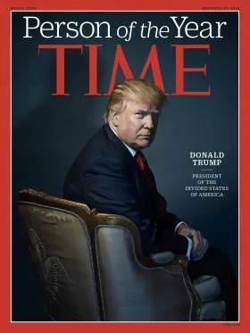 川普当选时代杂志2016年度风云人物
