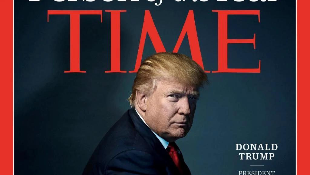"""法广:特朗普入选《时代》年度人物""""意味很多"""""""