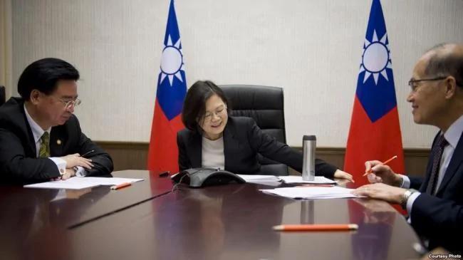 美国的8个台湾人组织 联名致函川普