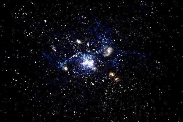 天文学发现星系生长新方式:吞噬气体
