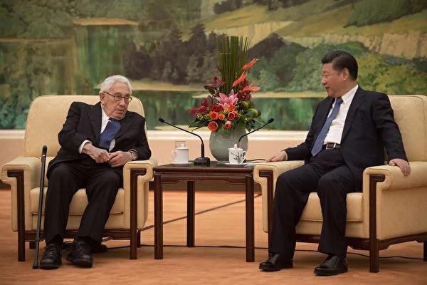 习近平接见基辛格 中共党媒漏报一关键内容