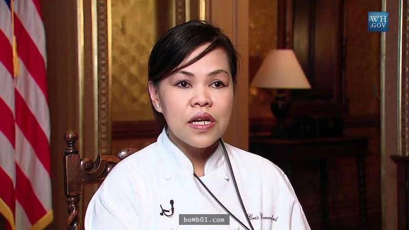 """这位亚裔女大厨担任""""白宫御厨""""长达10年 每任第一夫人都指定要她的原因是…"""