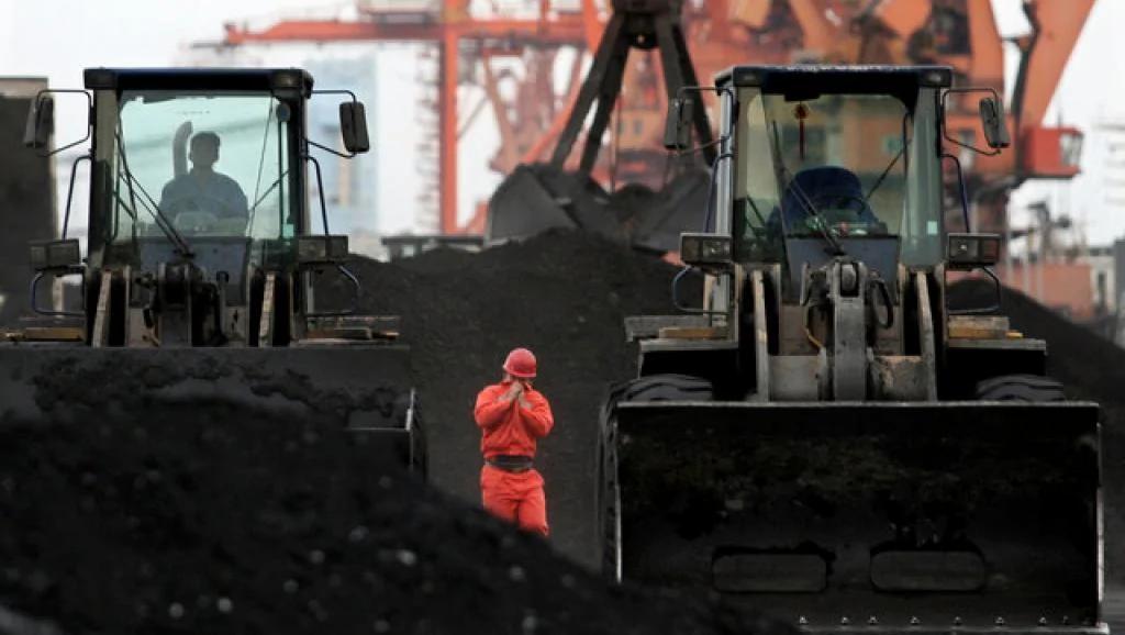 朝鲜煤炭进口到中国2010年12月7日丹东Reuters/路透社