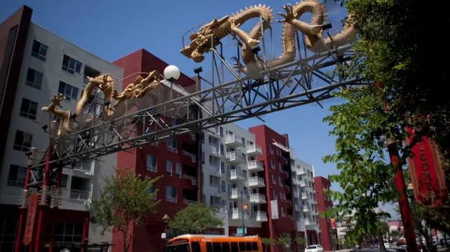 洛杉矶中国城连环抢劫 竟是4女1男干的