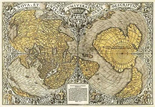 上古时期地图: 远古文明拥有高科技的证据