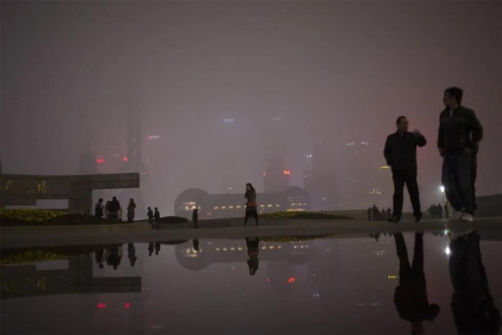 奇葩安抚 中共卫计委:雾霾和癌症无关