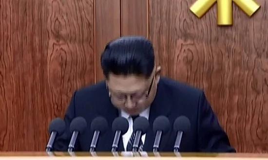 """金正恩""""自责秀""""是在预告血腥风雨"""