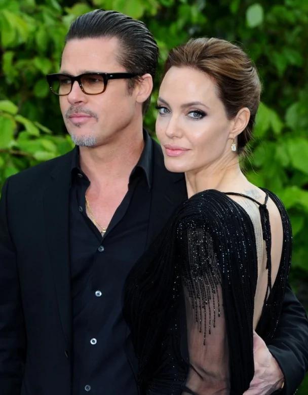 布拉德·皮特(Brad Pitt)与安吉丽娜·朱莉(Angelina Jolie)
