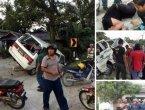 马来西亚华裔富家女遭绑架 群众追车擒匪(图)