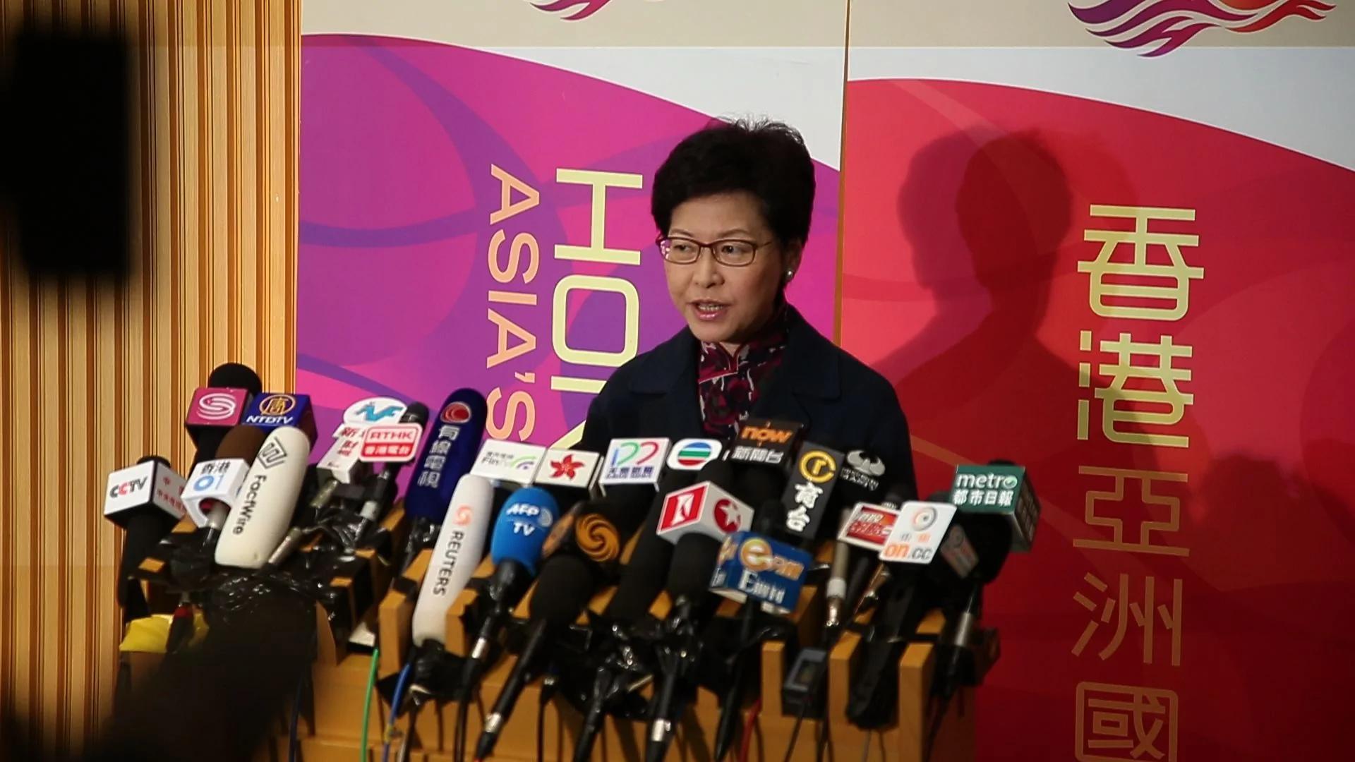 香港民主派拒支持政务司司长林郑月娥选特首