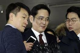 """韩国检方申请逮捕三星""""太子""""李在镕"""