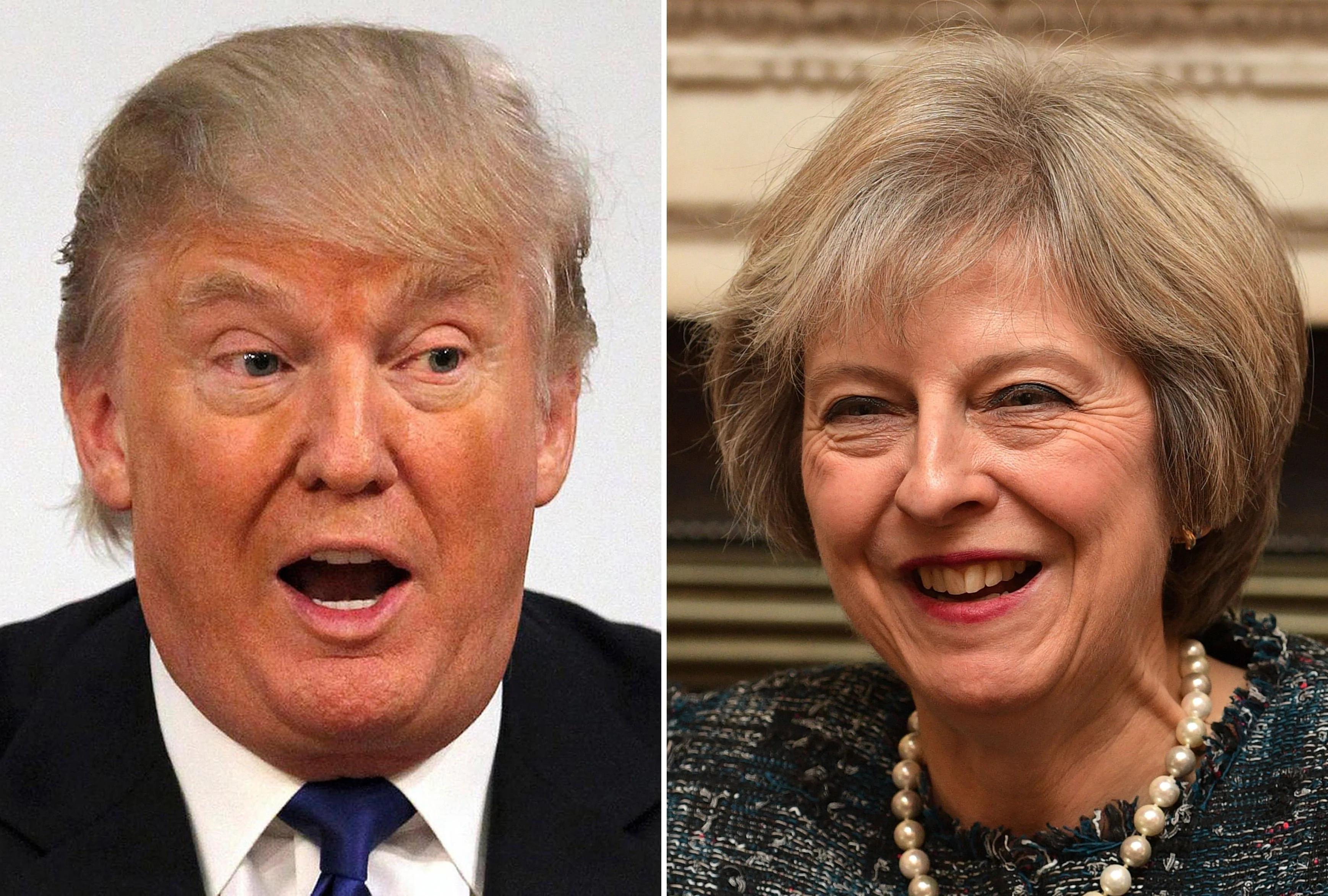 脫歐談判在即 川普:將儘快簽訂美英貿易協定