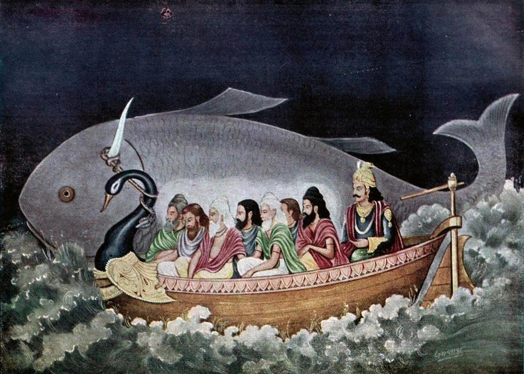 外媒:印度摩奴大洪水传说与诺亚方舟有不可忽视的相似度