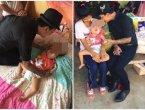 泰国女童患致命怪病 有3鼻孔但需靠口呼吸(图)