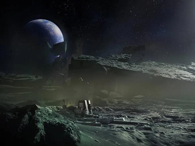 外媒:前NASA官员公开月球真正照片:此前照片都经过处理!