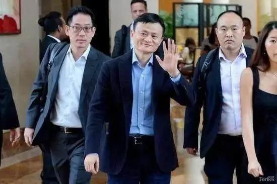 马云 刘强东 王思聪 谁的保镖最勇猛?