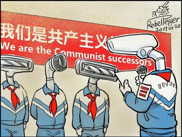 中国孩子 你是社会主义吸霾接班人(图)
