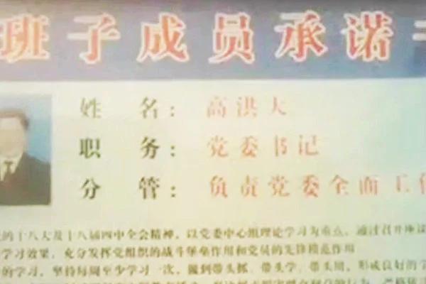 安徽省亳州市涡阳县涡南镇政府宣传栏(视频截图)