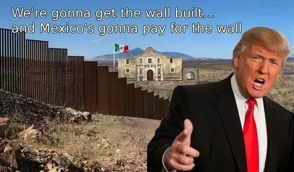 """川普建长城 美国墨西哥贸易战 中国""""或成赢家""""?(图/视频)"""