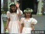 从小美到大!9岁凯特王妃当花童旧照曝光(组图)