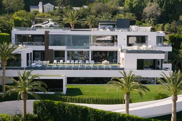 洛杉矶豪宅 2.5亿美元挑战全美最贵!