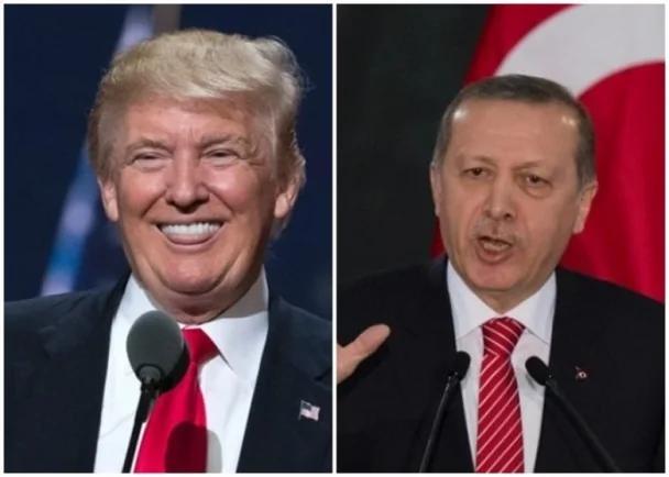 特朗普与埃尔多安通电 重申支持土耳其