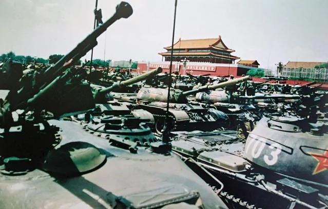"""六四""""杀人如麻""""军队番号被改 曾作秀嫁祸27军"""