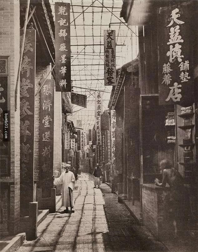 """""""中国有史以来第一批照片""""带大家回到1870年代的中国"""