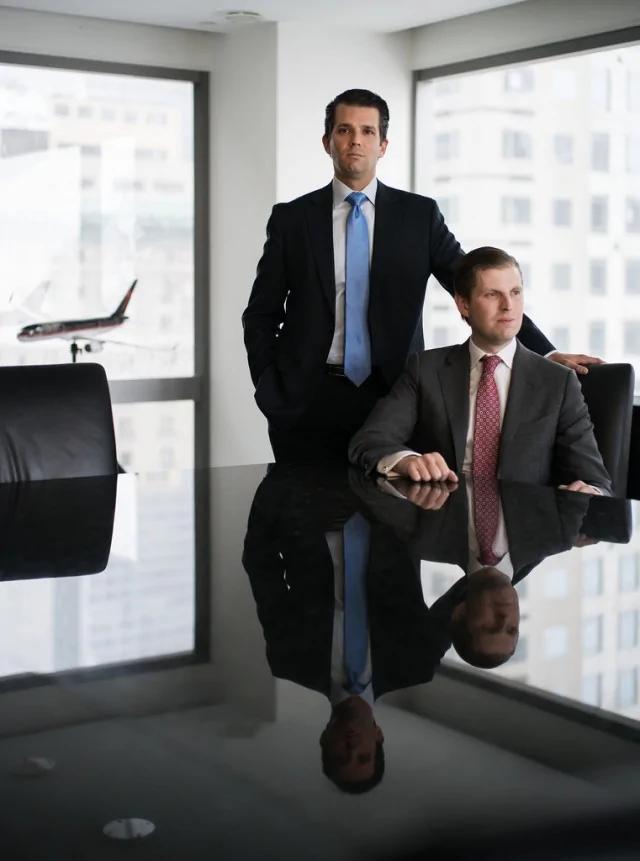 接管老爸的商业帝国 川普的儿子们