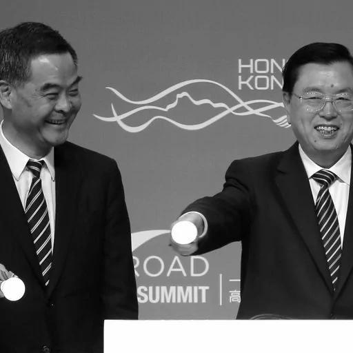 與習近平死磕 張德江欲將香港變基地 推梁振英進政協