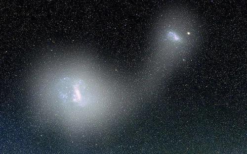 """外媒:银河系附近发现巨大""""宇宙桥""""连结两个星系!"""