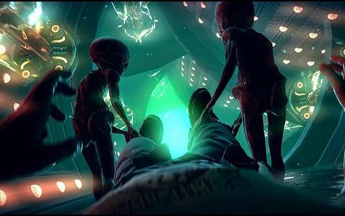外媒:前军人提供在51区被外星人绑架的证据!