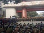 五百退伍军人湖南省纪委上访遭殴打(图)