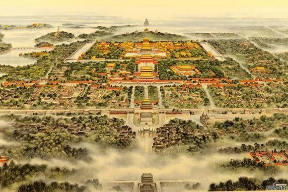 北京城为何非正南正北?东城墙为什么内缩呢?