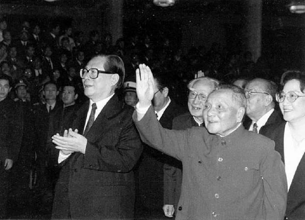 邓小平去世20周年 江泽民公开称邓死是大喜事