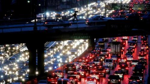 堵车世界第一的城市——洛杉矶
