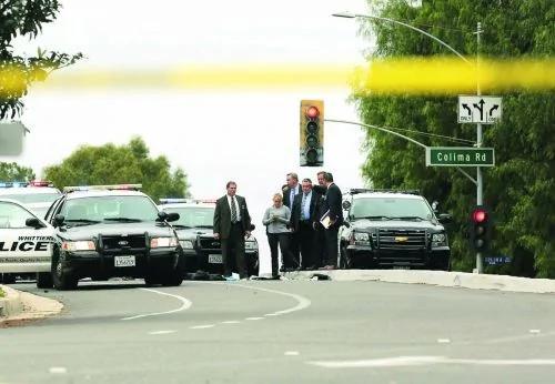 南加警察车祸现场遭黑帮伏击 一死一伤