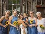 加拿大新娘请92岁外婆做伴娘 暖心合照令人感动!(图)