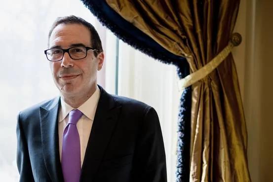 美国财长姆钦希望在8月前进行税制改革