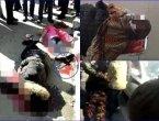 陕西母亲与女童街头遭砍丧命 疑凶服毒自杀(图)