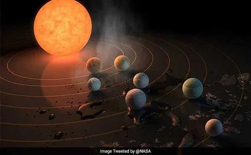 """外媒:NASA发现我们的姊妹太阳系 有七个""""地球""""!"""