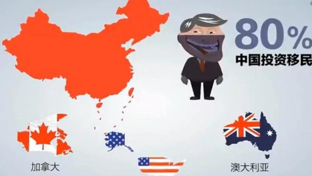 中国去年仍有9000富豪移民国外